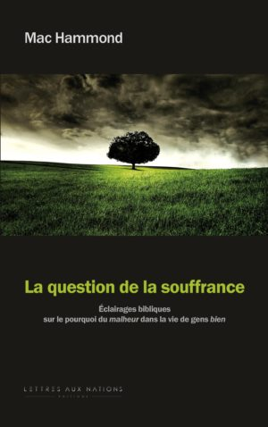 La question de la souffrance
